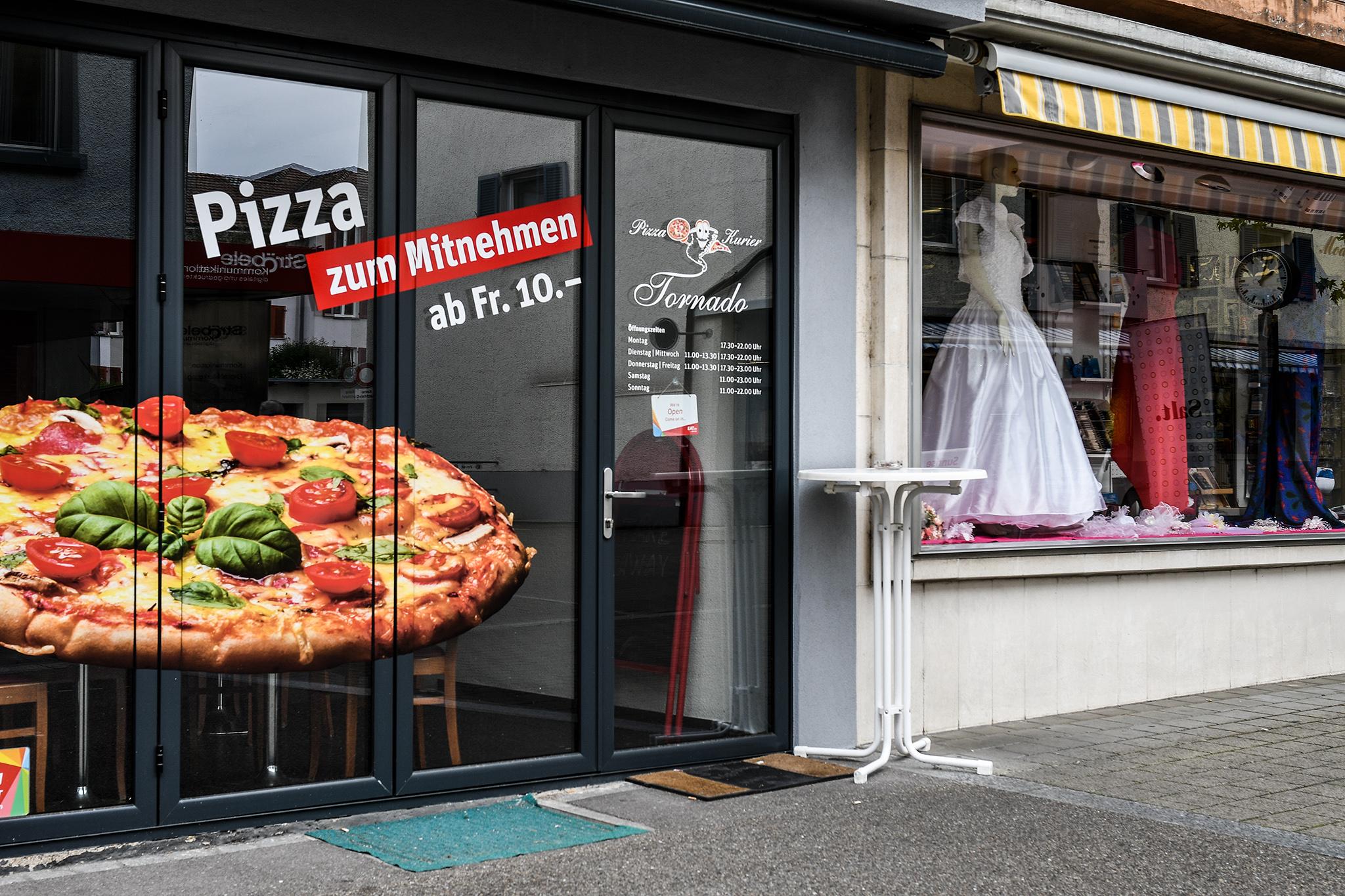 Pizza zur Hochzeit
